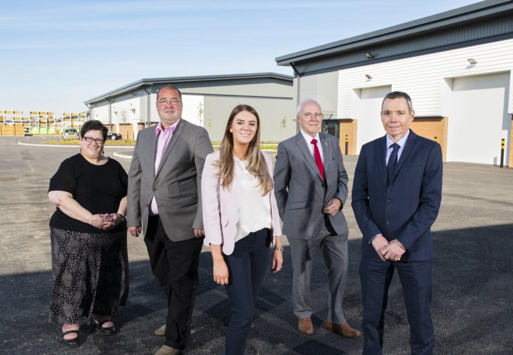 Success for St. Modwen as construction at Albion Gateway completes