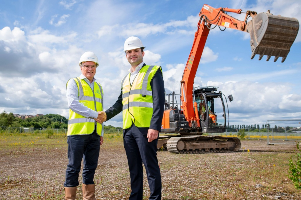 Next phase of development starts at St. Modwen Park Stoke Central as City Council acquires Trade Park