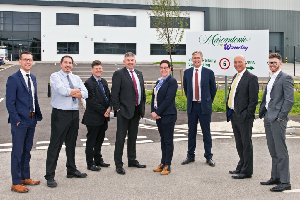 St. Modwen attracts international ice cream and confectionary distributor NIC to St. Modwen Park Lincoln