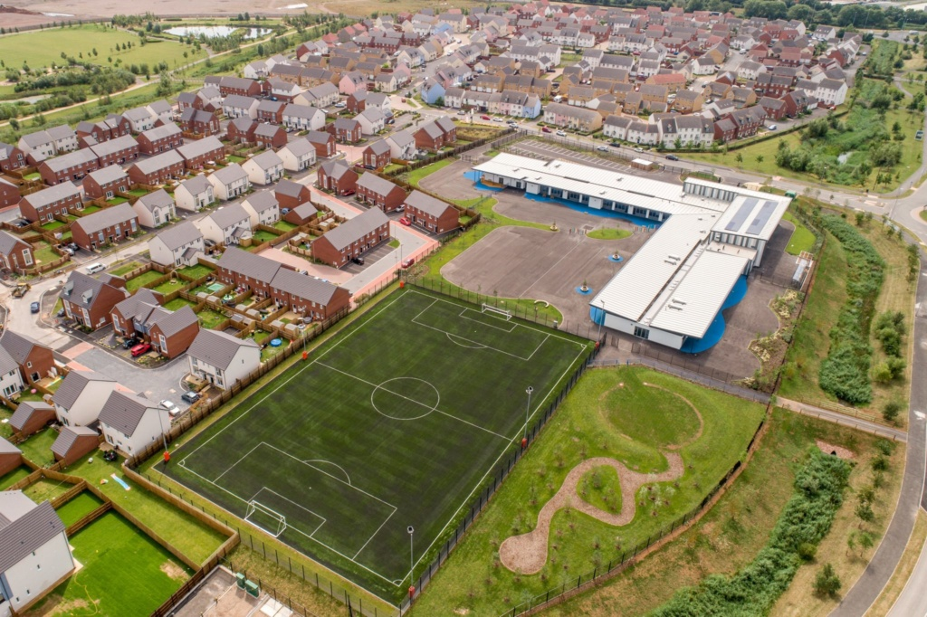 St. Modwen completes new £6m primary school at Glan Llyn