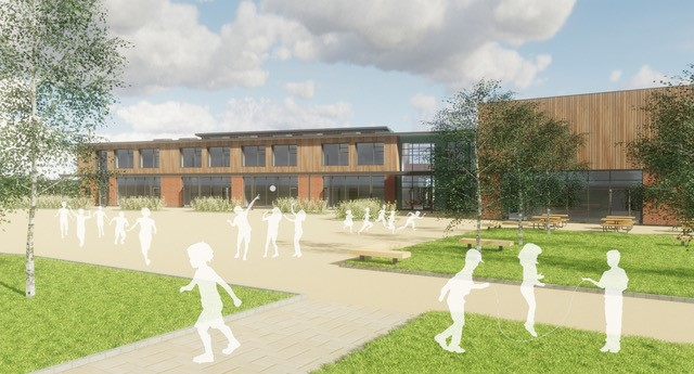 St. Modwen kicks off construction of the new primary school at Kingsgrove, Wantage