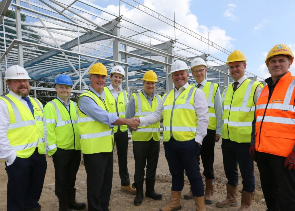 St. Modwen kick starts construction on major new employment site in Bury