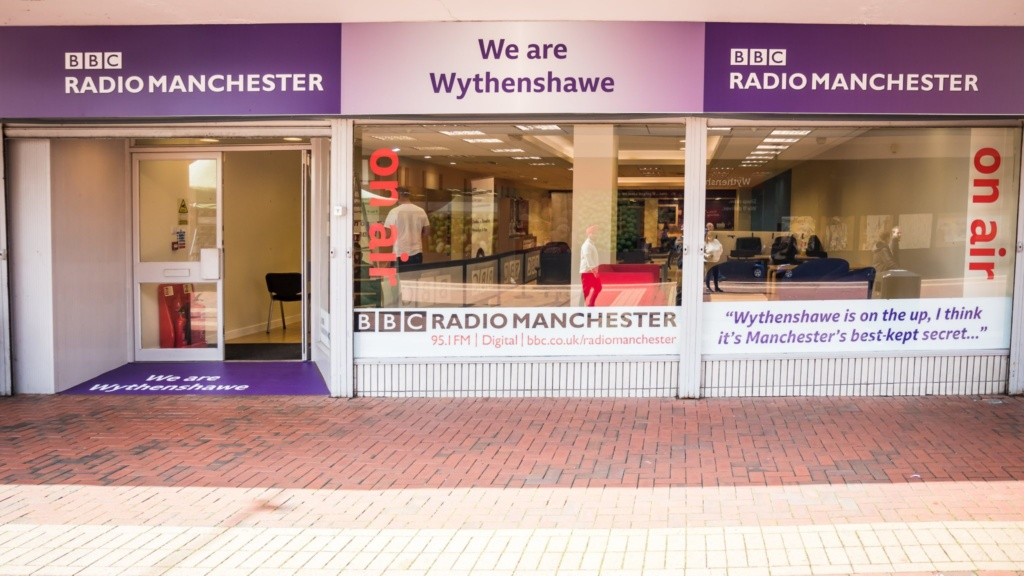BBC Radio Manchester relocates to Wythenshawe for a week in September