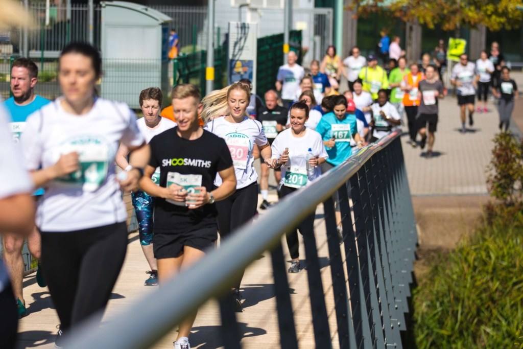 Property professionals take on the Midlands' toughest 10K to help end youth homelessness
