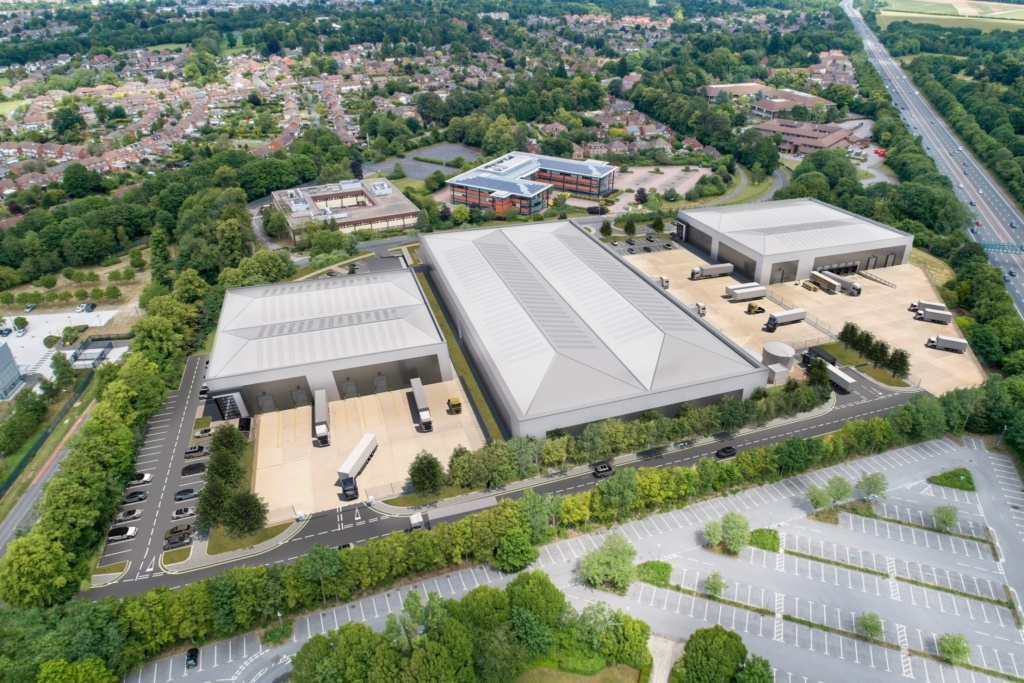 St. Modwen submits plans for major speculative scheme in Basingstoke