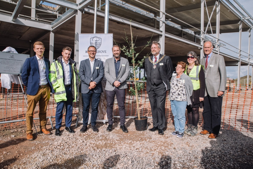 St. Modwen celebrates the official naming of the new Primary Academy at Kingsgrove