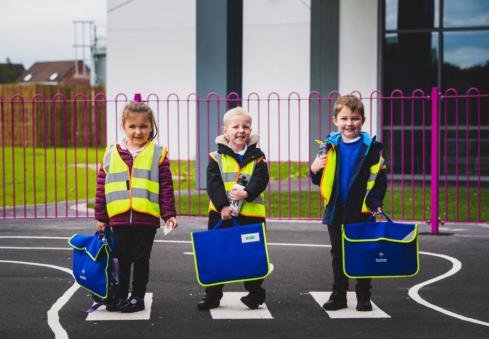 St. Modwen Homes helps pupils from The Mease Spencer Academy walk to school safely