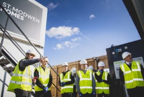 College students gain first-hand construction experience from former Stoke-on-Trent pupil