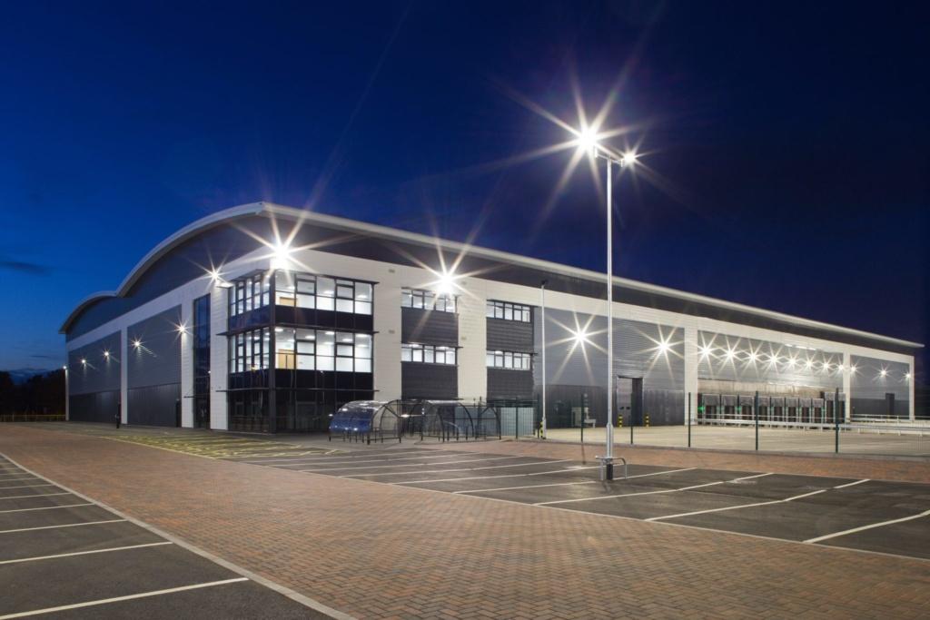 St. Modwen completes 103,000 sq ft unit at popular logistics scheme in Burton