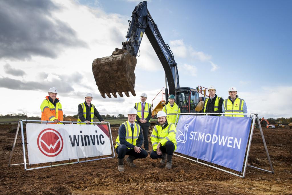 Groundbreaking marks start of work at St. Modwen Park Chippenham