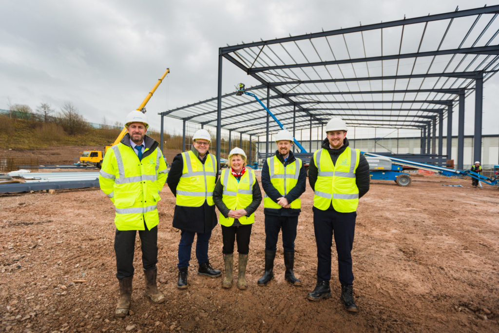 More than 225,000 sq ft of speculative development underway in Stoke-on-Trent