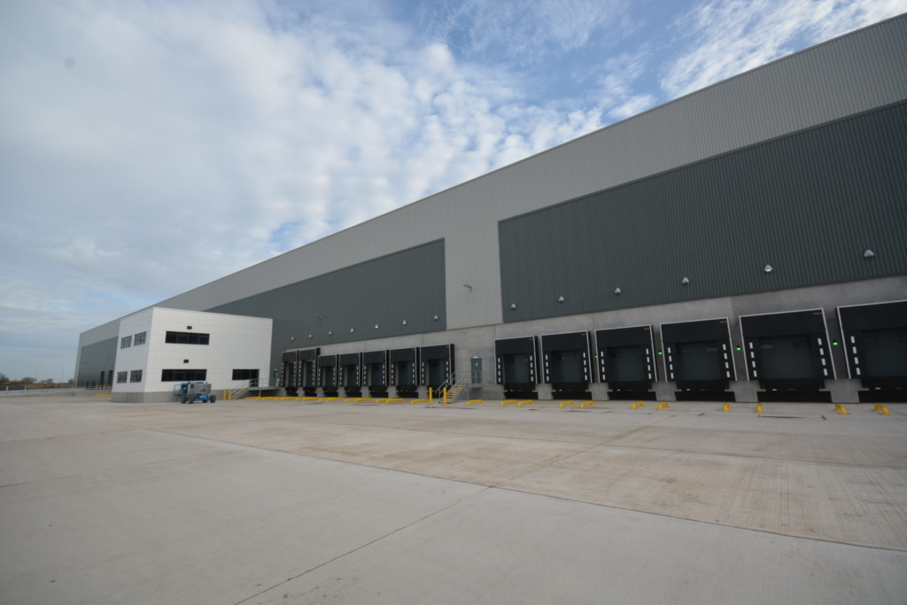 St. Modwen's largest-ever speculative unit in Tamworth reaches completion