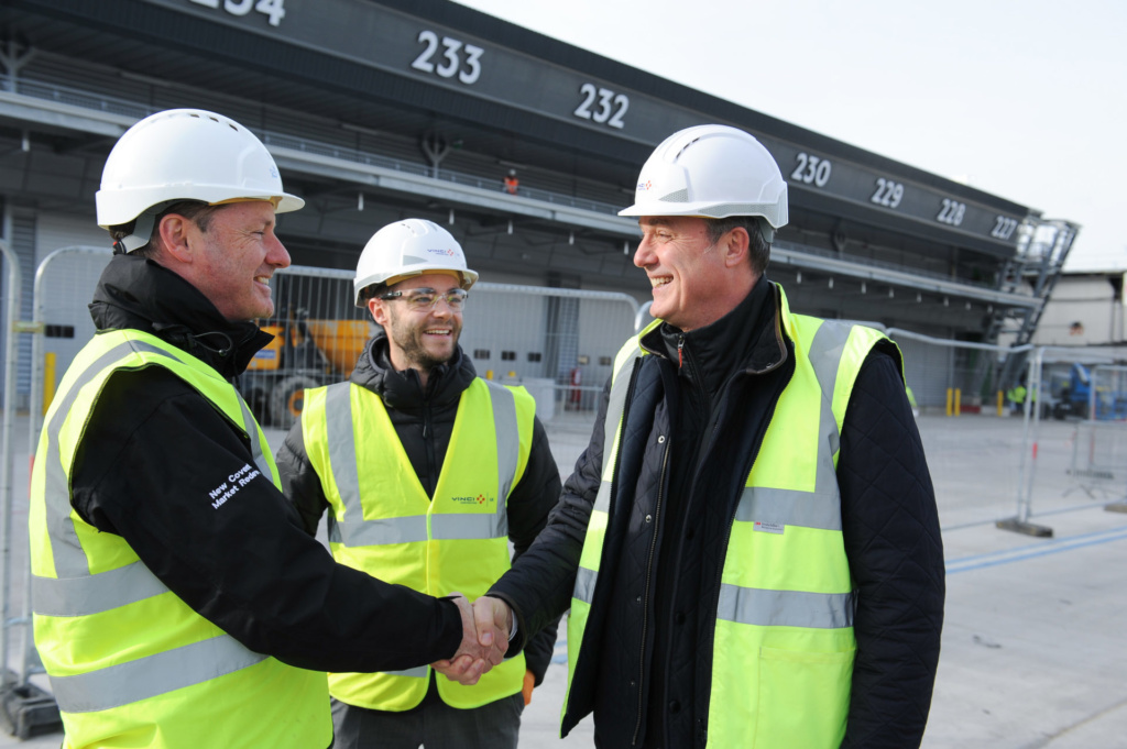 First phase of new Fruit & Vegetable market handed over at New Covent Garden Market