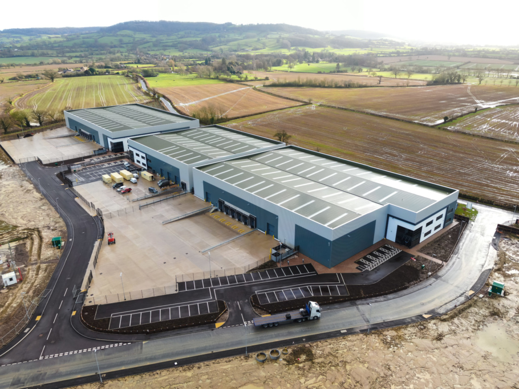 St. Modwen reaches completion of first phase at St. Modwen Park Gloucester
