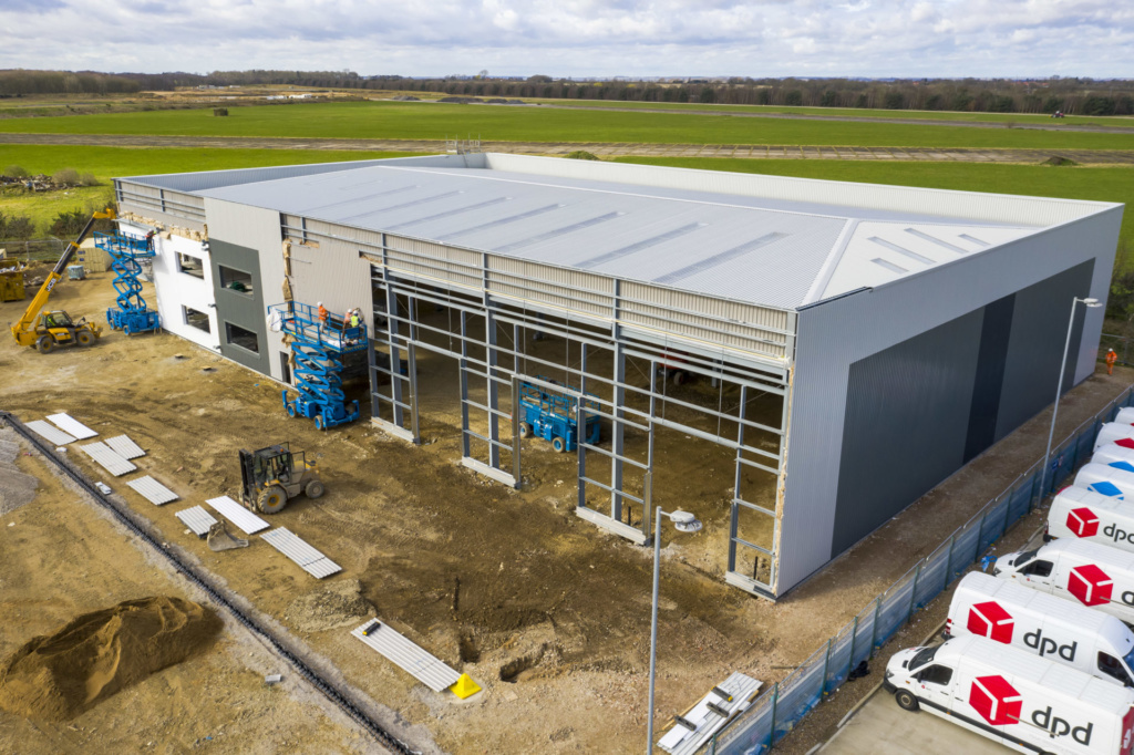 Construction of Phase 2 steams ahead at St. Modwen Park Lincoln