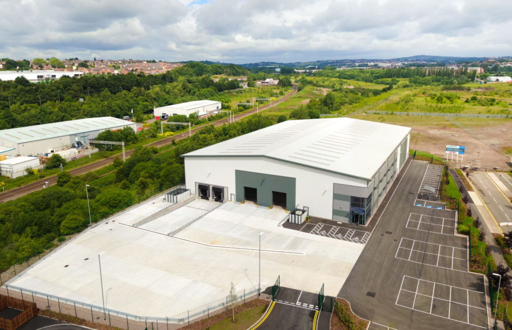 St. Modwen completes more than 85,000 sq ft of industrial space in Stoke-on-Trent