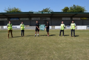 St. Modwen sponsors Wantage Town Football Club for upcoming season
