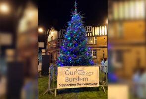 St. Modwen Homes helps spread Christmas cheer in Burslem