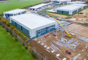 Steelworks up on four new units at St. Modwen Park Lincoln