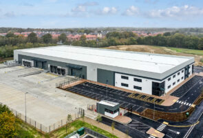St. Modwen completes 100,000 sq ft facility at Gatwick and begins second phase