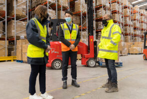 Global logistics solutions provider signs at St. Modwen Park Burton