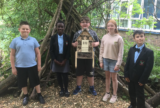 Northwood Park Primary School pupils can't wait to welcome new residents to their bug hotels