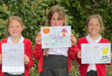 Local children draw what they love most about Uttoxeter for St. Modwen Homes